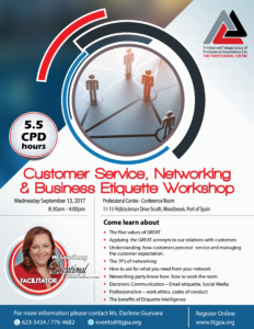CUSTOMER SERVICE, NETWORKING & BUSINESS ETIQUETTE WORKSHOP